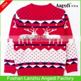 new modern Men's knitted Christmas sweaters xmas Jumpers in deer pattern