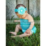 Girls Blue Crochet Tube Top Photo Prop 12M-3 Years