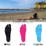 flexible anti-slip NAKEFIT Stick-on Soles Adhesive Foot Pads Feet Sticker Flexible Feet Protection anti-cutting sticky pads