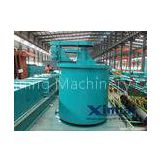 Double Impellers Mineral Gold Separator Machine Leaching Agitation Tank