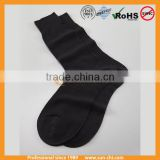 latest men colorful stripe dress socks with custom logo stocking
