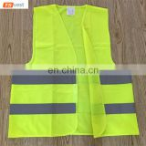 100%Polyeser Green Traffic Safety Vest Factory