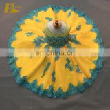 Little Queen Ball Gown Scoop Neckline Lace Colorful Choice Flower Girl Dress For 3-5 Year Old