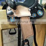 Children's western saddle