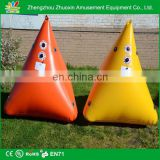 Pyramidal Shape (1500 x 1500 x 1500)mm Inflatable Marker Buoys