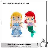 Customiztaion logo mermaid figures dolls toy,Good-looking plush stuffed mermaid doll toys