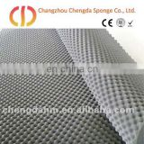 wave sound reduction foam for building