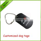Customized dog tags metal round dog tag