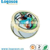 Vietnam decorative style round shape compact mirrors wholesale