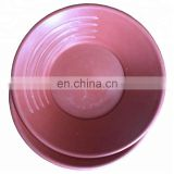 Real high quality four grooves gold pan