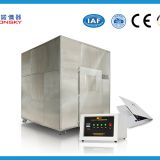 Automatic Micro Controlled FRLS Testing Instruments , Plastic Smoke Density Test Apparatus