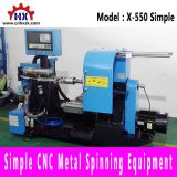 Hot Sale Simple Cnc Metal Spinning Forming Machine Process Lathe