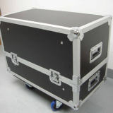 Heavy Duty Small Led Par Shipping Cases Custom Plasma Lcd Upright Bass Flight Case