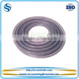Flexible PVC suction & delivery hose, steel spiral reinforced pvc spiral flexible hose