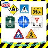 Customized Reflective International Aluminum Road Sign Meanings