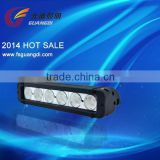 China wholesale energy saving High quality 11 Inch 60W Single Row LED Light Bar with gold supplier in alibaba