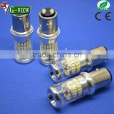 high quality low price Auto LED car light 1156/1157/3156/3157/7440/7443 48smd 3014 LED bulb wide voltage for all car