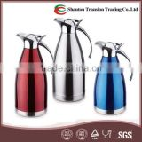 European Style Stainless Steel Vacuum Coffee Jug/Insulated Hot Pot /Thermos vaccum flask