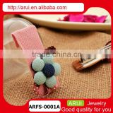 china wholesale hair product new embroidery design hair accessory for girls
