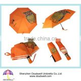 2015 new product is windproof folding umbrella and promotional folding umbrella and advertising folding umbrella