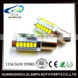 Hot sale led 12V High light ba15s bay15d 1156/1157 5630 33SMD led car light tail light 1156 5630 auto led light bulb