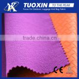 embossed fabric bonded with tpu and 75D brushed fabric