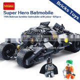 Decool Super Hero Series 7105 Batman Tumbler Batmobile With Joker Bricks Toys