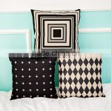 Wholesale (#CC010) Fashion Linen Cotton Bed Sofa Throw Pillow Case Cushion Cover