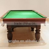 Economic 8ft MDF billiard table,classic type pool beer pong table on sale