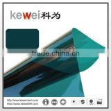 N-Green Silver Decorative building glass film covering with high UV protection and heat resistant
