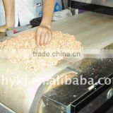 Inductrial continuous egg tray microwave dryer/drying machine
