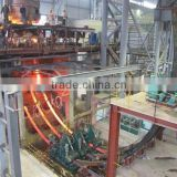 Small electric DC copper melting arc furnace