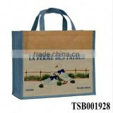 hot sale fashion promotional jute package bag