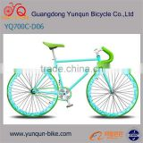 color optional White 700C fixed gear bike /alloy rim steel frame fixie gear bicycle/Wholesale Price Track Bike