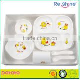 Hot children dinnerware / kids dinnerware/baby dinnerware set/PP
