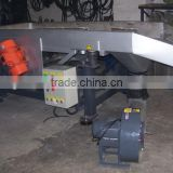 Plastic pellets screener, Two motors Pellets vibrating screener with high pressure blower