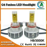 H8 G6 new generation Canbus led head light h4 h7 h8 h9 h11 h13 9004 9005 9006 9007 car led headlight kit