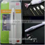 Nail Art Tips Mini Electric Drill Nail Buffer Manicure Pedicure Grooming Tool Wholesale