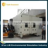 Electroplated SUS304 Climatic Simulation Testing Walk-in Industrial Refrigeration Chamber