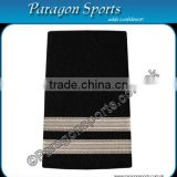 Pilot Epaulette Captain Epaulette Two Silver Bar