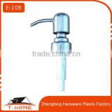 stainless steel hand liquid soap dispenser pump                                                                         Quality Choice
