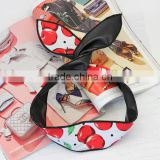 korean fashion new design high quality apple printed leather sexy cat ear hair band headbands