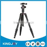 Multi-function aluminum Alloy Camera Tripod Monopod with Quick Release Plate Ball Head kits suppliers