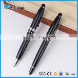 Famous brand pens for business gift eco-friendly fluent writing pen black ballpoint pen