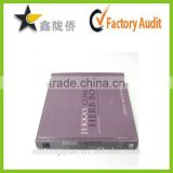 Full color customized printing wire binding book