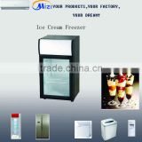 -25 degree Low temperature upright freezer, Ice cream freezer ,Upright freezing showcase