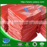 cold-resistant ,waterproof good quality orange color outside road cover tarps,garden cover ,grass cover pe woven fabric                                                                         Quality Choice