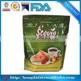 food grade stand up pouch zipper top with customized logo printing for stevia                                                                                                         Supplier's Choice