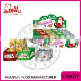 Christmas halal gift packing soft jelly gummy candy                                                                         Quality Choice