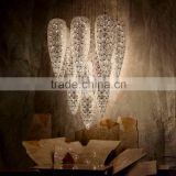 Italy luxurious crystal beads eggs ball chandeliers P220-13